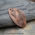 Copper Random Fern/Leaf Bracelet bar