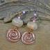 Summer Garden, Stunning Lampwork Beads swirling in soft pastel shades