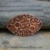 Copper Om/Namaste Collage Bracelet Bar #58