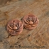 Artisan Copper Lotus Flower (1) pair