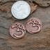 Copper Om Pair  (1 pair)