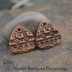 Artisan Copper Tribal Texture (1) pair