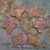 Delicate Mehndi Copper Stylized Flower