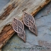 Copper Graceful Goddess Charms (1) pair