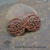 Copper Marrakech Textured Round Pair  (1 pair)