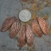 Copper Dragonfly Wing pair (1 pair)