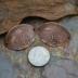 Copper Delicate Mehndi/Paisley Bracelet Bar (1) One
