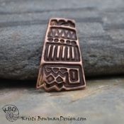 Funky Tribal copper Focal.