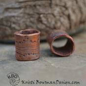 Snakeskin Textured Tubes, Slides