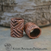 Large Geometric Textured Tubes/Slides
