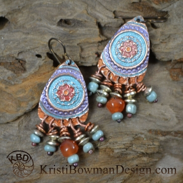 Finished Jewelry designed by Kristi Bowman Design