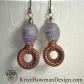 Mystic Lampwork, Copper and Labradorite